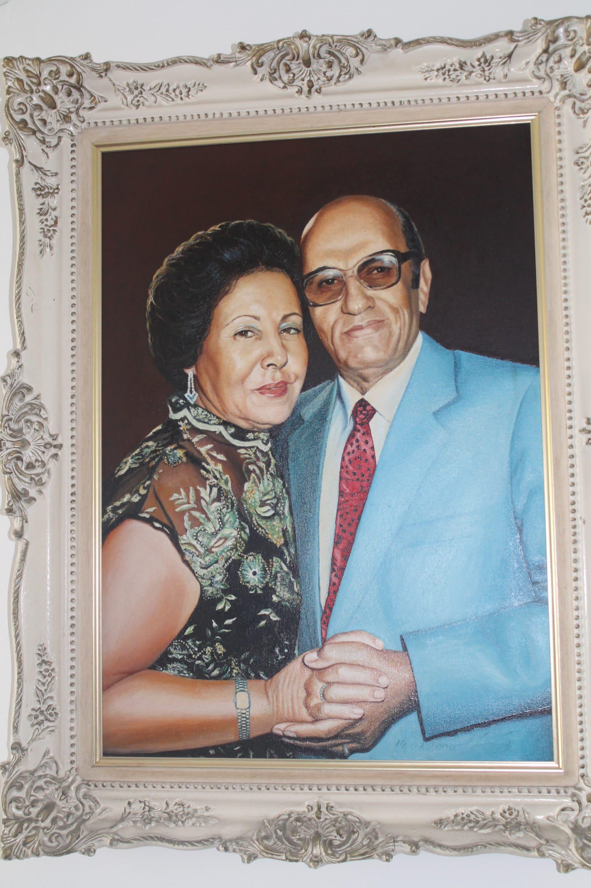 עזרא ופנינה לוי ,המייסדים