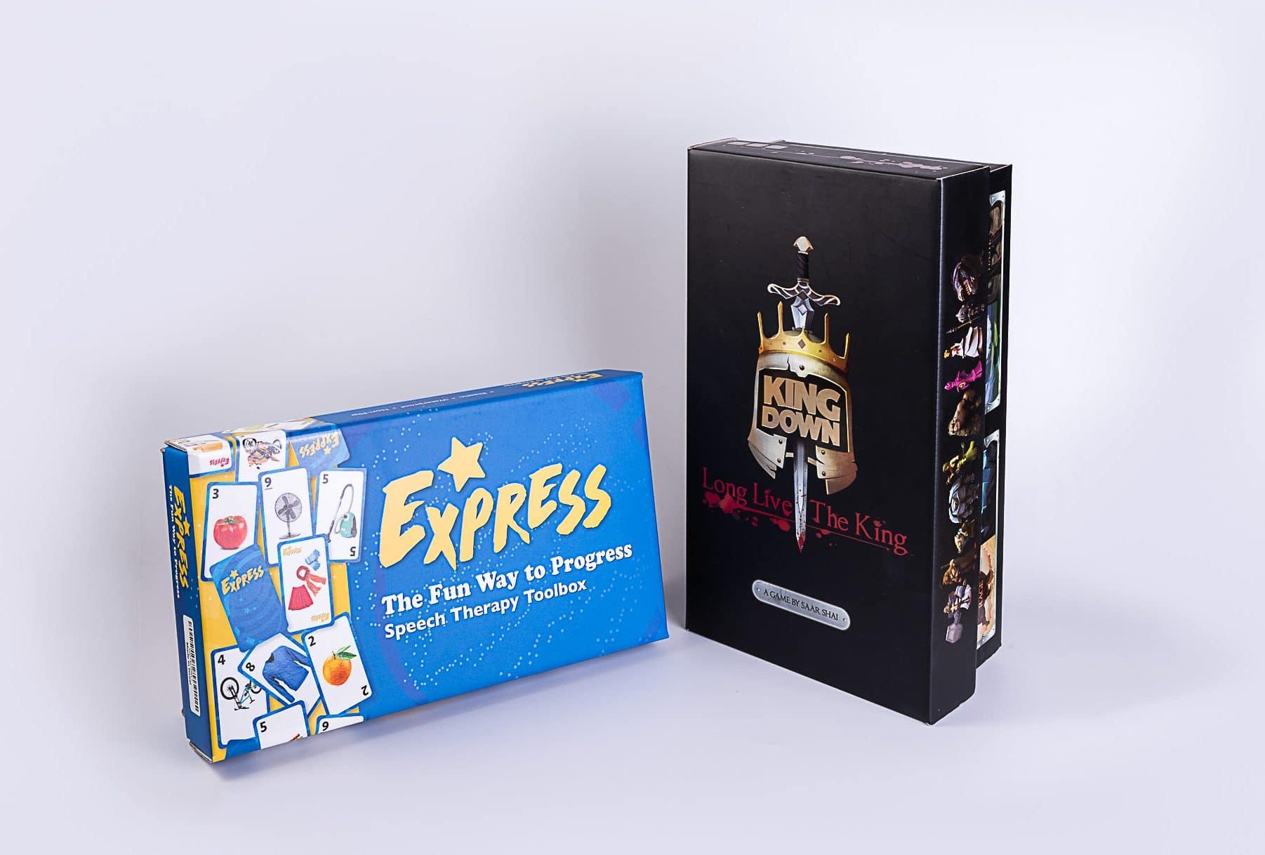 אריזות למשחקים מקרטון שהודפסו בדפוס דיגיטלי ודפוס אופסט