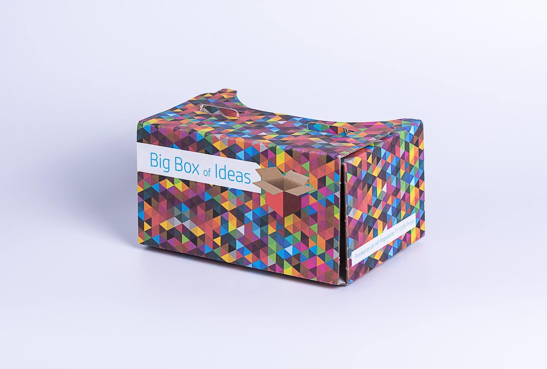משקפי תלת מימד חדשני צבעוני שעשוי מקרטון וגומי