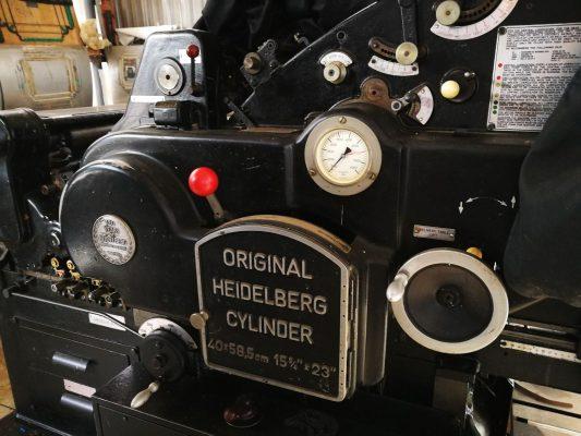מכונות דפוס של פעם