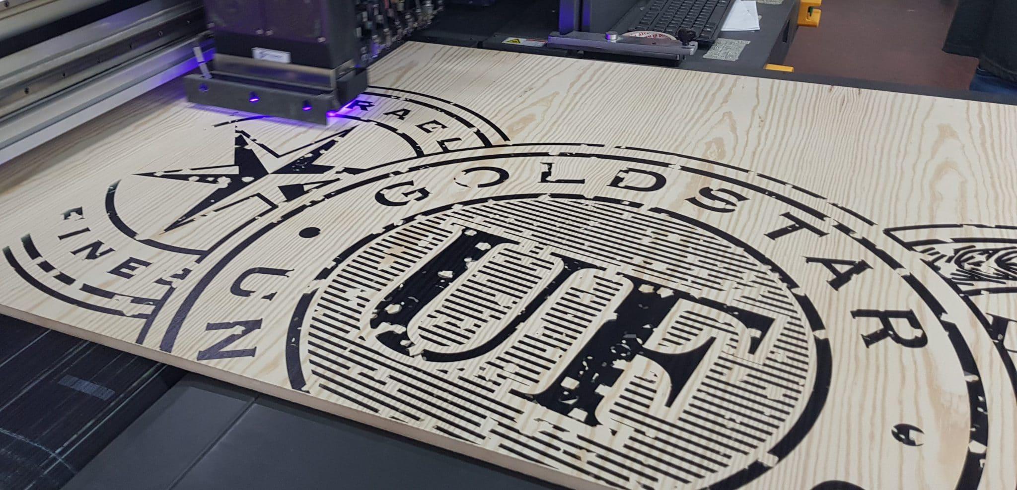 הדפסה דיגיטלית של תוויות בירה GOLDSTAR