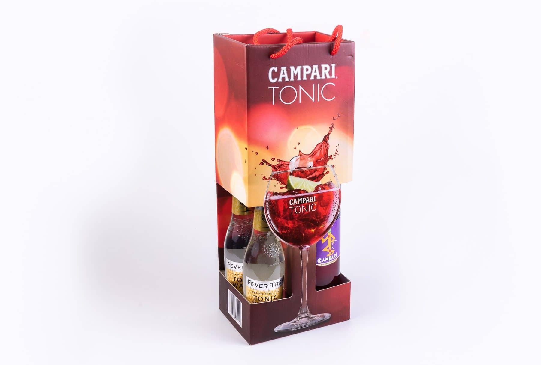 מארז CAMPARI TONIC - ארבעה בקבוקים