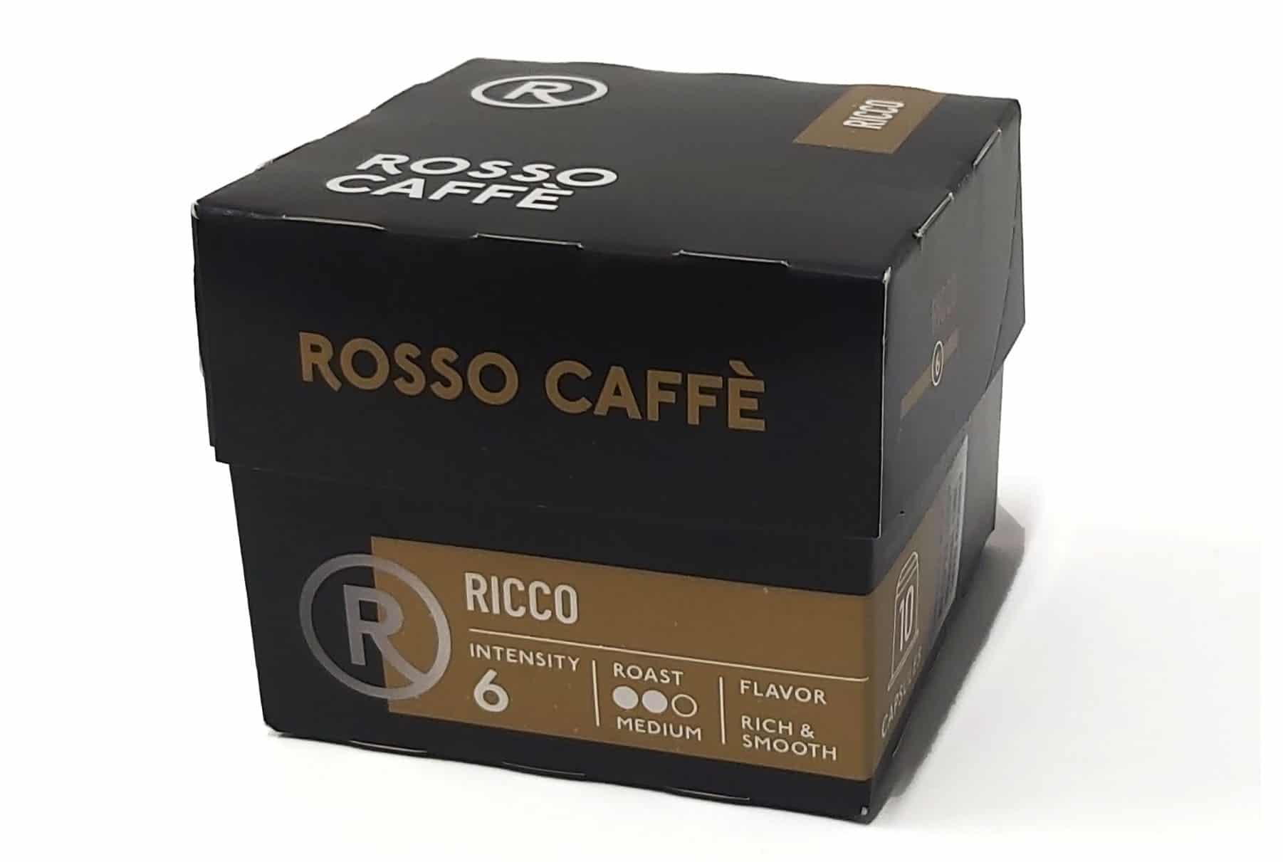 מארז קפסולות קפה ל - ROSSI CAFFE