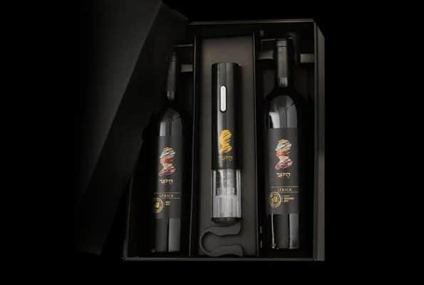 דפוס פאר פרינט הדפיסו מדבקות לבקבוקים של יקב היוצר